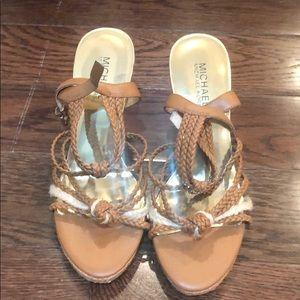 Michael Kors wedge sandals- 7